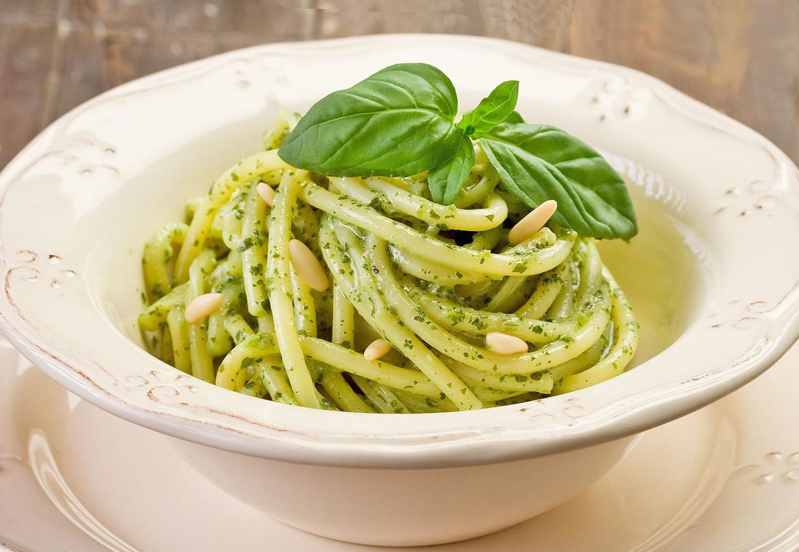 Basil Pesto Pasta