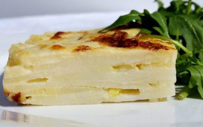 Parsnips & Potato Gratin