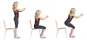 Image result for Chair Squats""