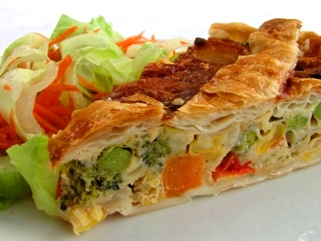 Vegetable Harvest Pie
