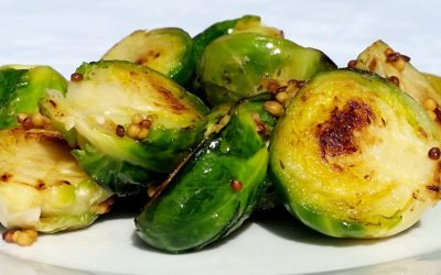 Brussels Sprouts with Mustard