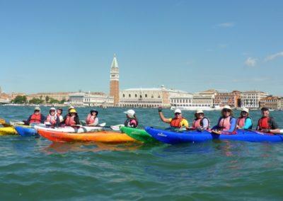 Jane's kayaking in Italy