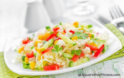 Corn and Cabbage Salad