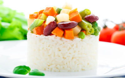 Quick Veggies and Rice