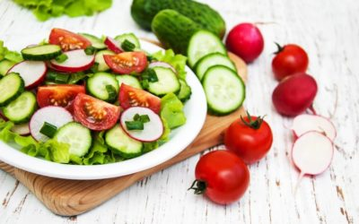 Garden Salad With Lemon Mustard Dressing